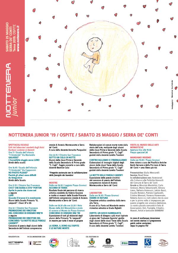 NOTTENERA JUNIOR sabato 25 maggio 2019 - Serra de' Conti - La festa di tutti i bambini e i ragazzi!