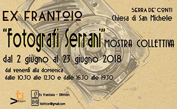 """Mostra Collettiva """"Fotografi Serrani"""" dal 2 al 23 giugno San Michele"""