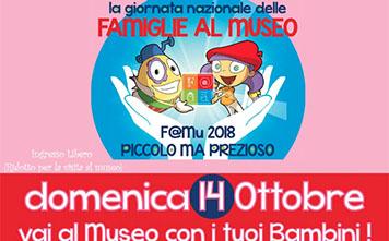 Domenica 14 ottobre: Giornata delle Famiglie al Museo